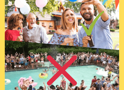 Do's & Don'ts on how to throw a Outdoor Party
